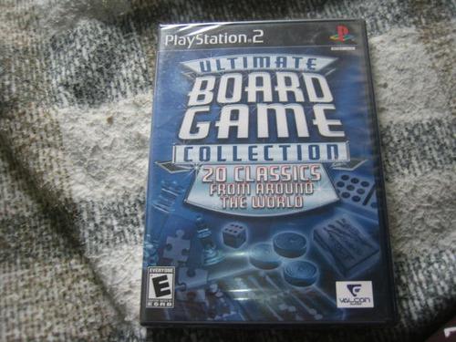 ultima boad game collection orig. lacrado p/ playstation 2