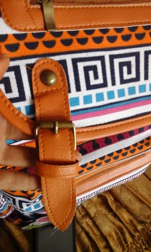 última! mochila coreana kawaii! estilo tribal importada
