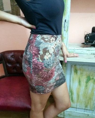 última moda polleras estampadas bernshka