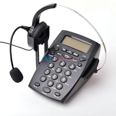 última pantalla lcd negocios teléfono corded auricular call