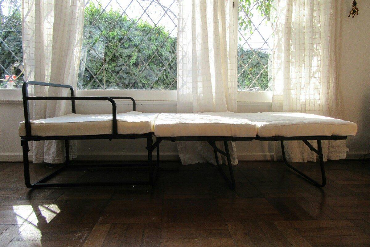 Ultima unidad sill n cama 1 plaza incluye funda y almohada for Sillon cama 1 plaza nuevo