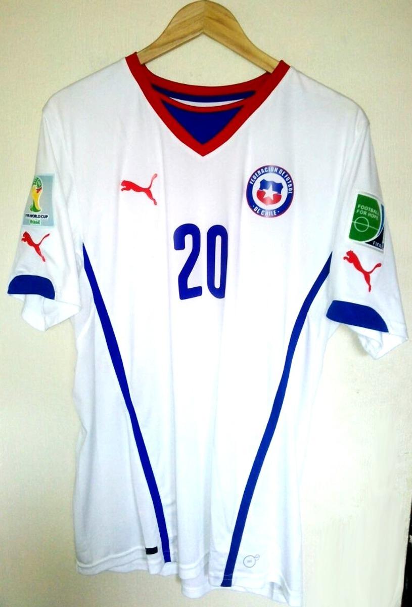 Ultimas Camisetas Chile Brasil 2014 Version Jugador -   85.000 en ... ff3914f0094c5