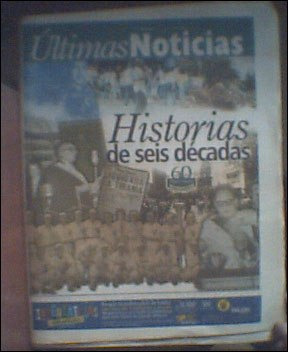 últimas noticias edición 60 aniversario 2001 historiavdh cth