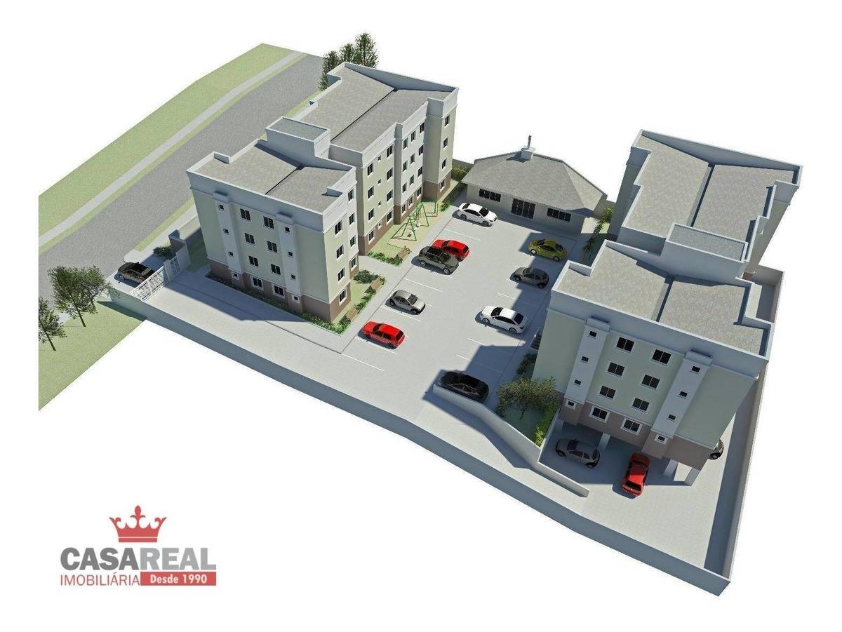 últimas unidades! 2 dorms. | 1 vaga - residencial montparnasse - almirante tamandaré/pr - ap0117