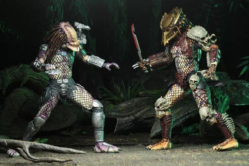 ultimate bad blood predator vs enforcer predator 2-pack neca