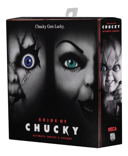 ultimate chucky y tiffany 2-pack bride of chucky neca