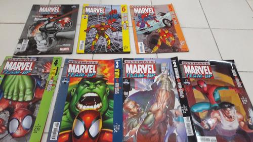 ultimate marvel team up - 1 al 6 + spiderman punisher