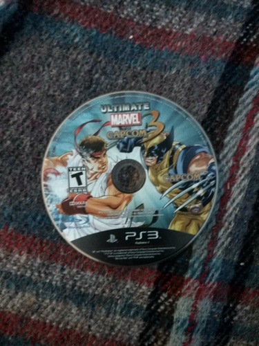 ultimate marvel vs capcom 3 para ps3!!!