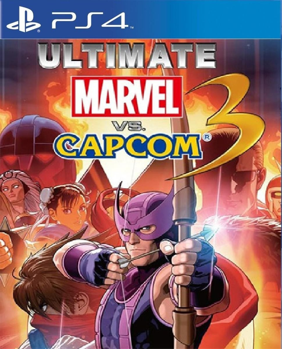 Ultimate Marvelvscapcom3 Necesita Internet Juego Digital Ps4 Bs