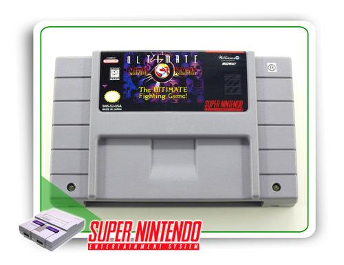ultimate mortal kombat 3 original super nintendo snes