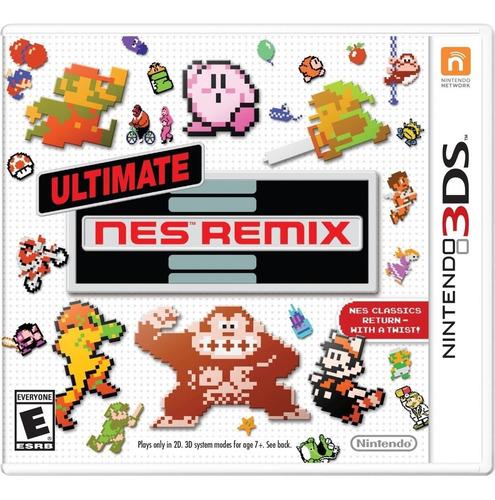 ultimate nes remix 3ds mídia física lacrado