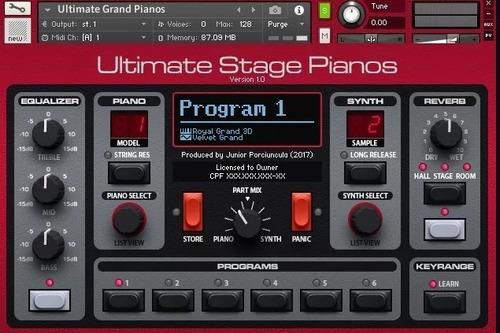 ultimate nord stage pianos para (kontakt)