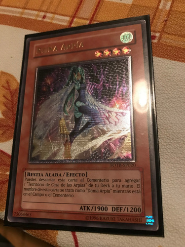ultimate rare - harpie queen - fotb-en020 unlimited
