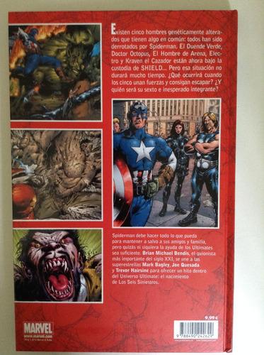 ultimate spiderman, los seis siniestros