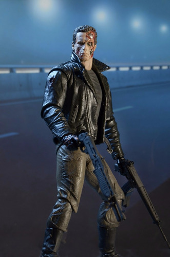 ultimate terminator  station police - neca