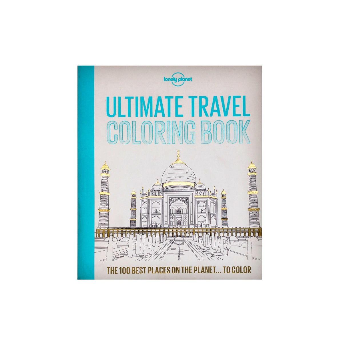 9740d775e Ultimate Travel Coloring Book - $ 19.390 en Mercado Libre
