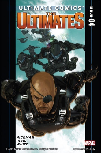 ultimates #1-6 primeiro arco completo (2011) marvel ultimate