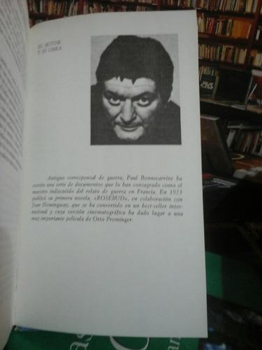 ultimatum, paul bonnecarrère, novela.