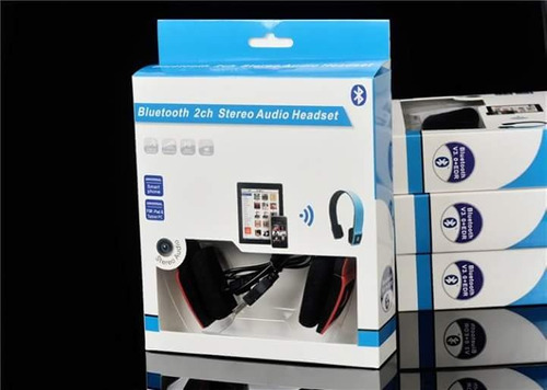 último auricular vincha plegable bluetooth multimedia