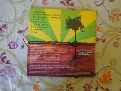 ultimo expresso el imperio de los sentidos cd usado nacion.