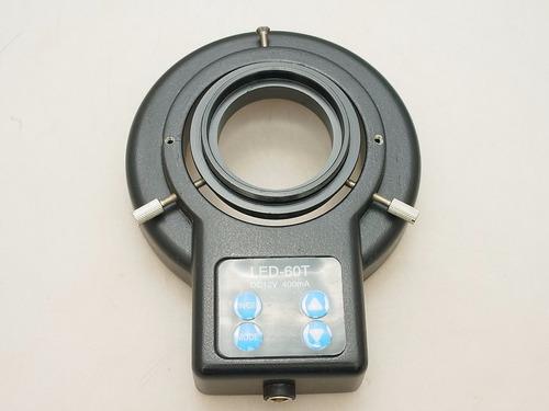 ultimo led anel microscopio pro 12v & fonte 100-220v §§§