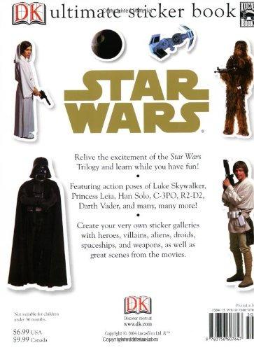 último libro de pegatinas star wars