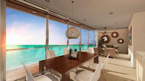 ultimo penthouse frente al mar en carretera progreso-telchac