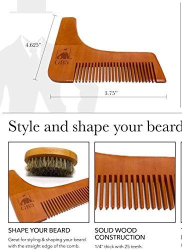 último shape y estilo barba grooming kit 7piece aceite barba