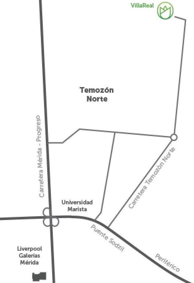 últimos lotes residenciales en privada villareal por temozón norte