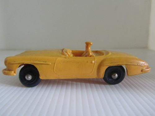 ultra antiguo auto de coleccion vintage mercedez benz 1960