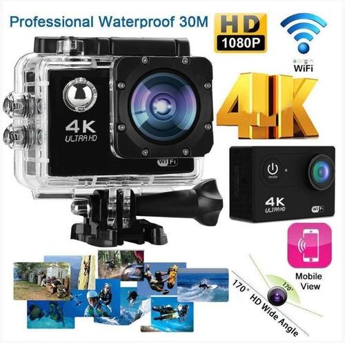 ultra câmera action go pro 4k sport wifi prova dágua