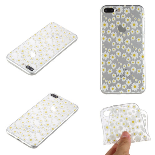 Ultra delgada TPU claro caso De Gel Suave Silicona iPhone 7 7s 6 6s 5 5s Plus Plus