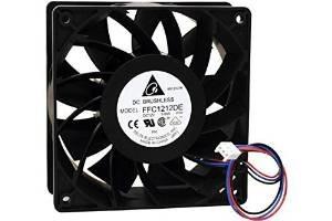ultra fuerte ventilador de refrigeración 12cm dc12v. 200cfm