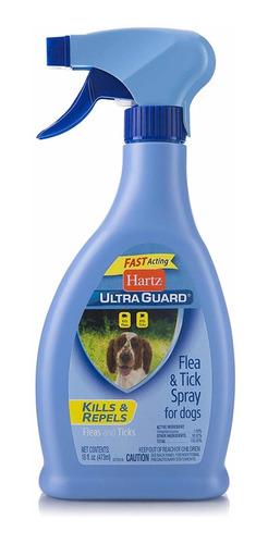 ultra guard - hartz anti garrapatas y pulgas - 473ml