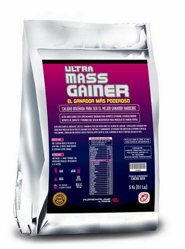ultra mass gainer 5k ganador peso adrenaline  activationperu