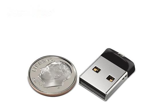 ultra mini pendrive 16gb sandisk cruzer fit - original