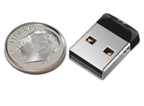 ultra mini pendrive 32gb sandisk cruzer fit - original
