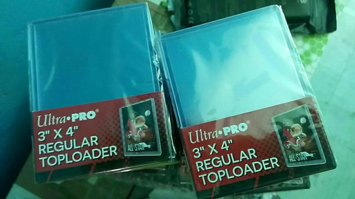 Ultra pro toploader card supplies
