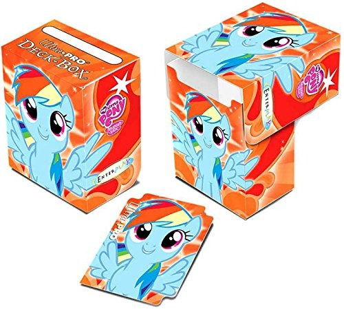ultra pro tarjeta my little pony rainbow dash suministros de