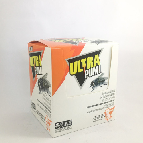 ultra pum - cebo mata moscas y moscas de la humedad x30 gr