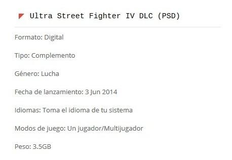 ultra street fighter iv dlc (ps3)