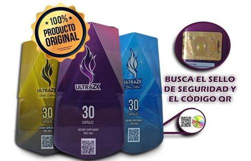 ultra zx morado / blue / gold + te adelgazante adelim gratis