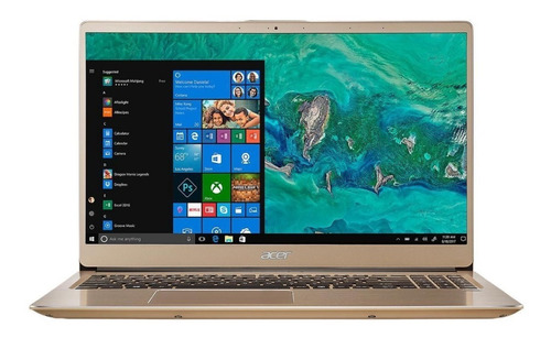 ultrabook acer swift i7 8va quad core 8gb de ram ssd 256 pantalla 15,6 full hd pesa 1,6kg