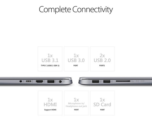 ultrabook asus vivobook procesador amd a12 quad core 4gb ram ssd 128gb video radeon r7 15,6 pulgadas bateria h/8hs 1,4kg