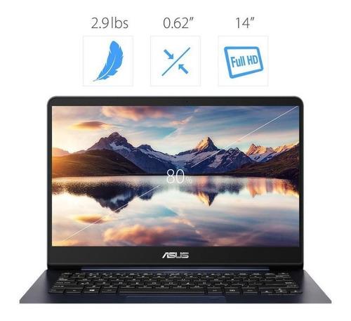 ultrabook asus zenbook ux430 i7 8va 16gb ssd512 nvidia mx150