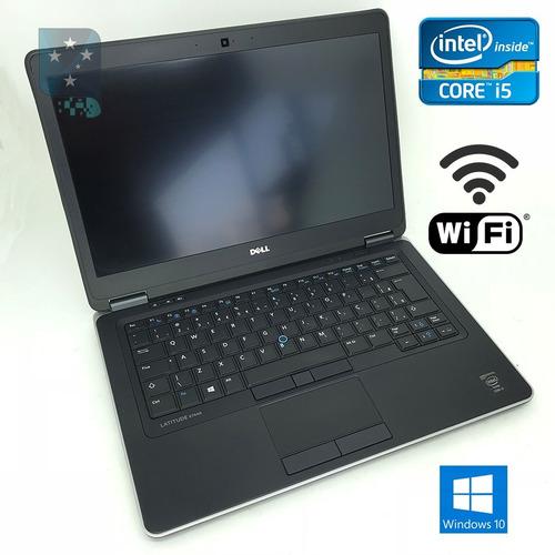 ultrabook dell core i5  e7440 4gen 4gb hdmi wifi win10