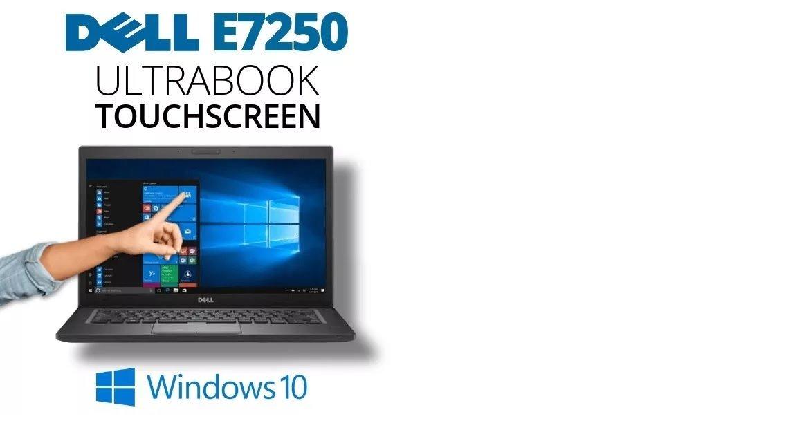 Ultrabook Dell Latitude E7250 I5 5ºger  120ssd 8gb Win 10