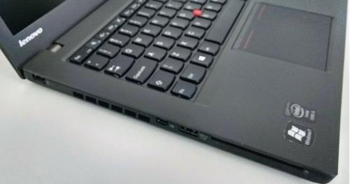 ultrabook lenovo thinkpad t440 i5-4300u 8gb ssd 120gb top