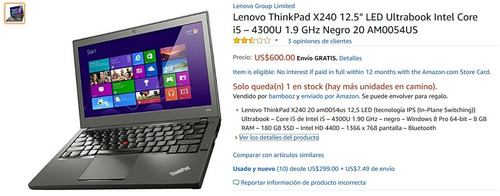 ultrabook thinkpad x240