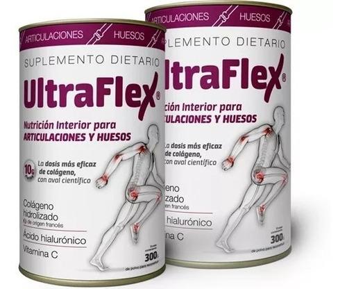 ultraflex colageno hidrolizado huesos y articulación x 2unid